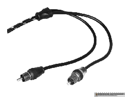 Rockford Fosgate RCA Cable RFIT-20